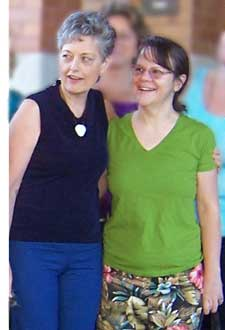 Carol Phillips of Dynamic Body Balancing and Gail Tully of Spinning Babies