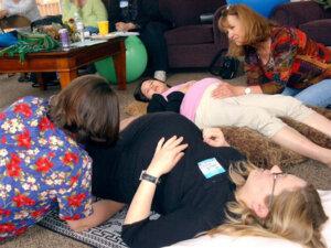Julie abdominal release Guina Janus