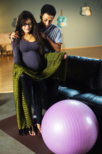 Rebozo Manteada - For Comfort in Pregnancy and Birth