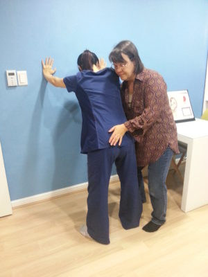 Standing Sacral Release Seoul Birth Center