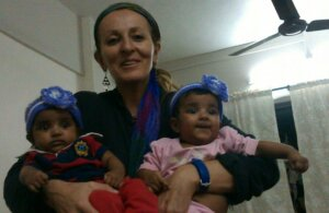 Lina Duncan and Faruk's Twins