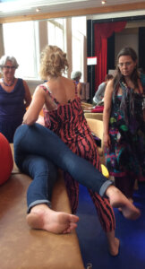 3 Sidelying Release leg hangs
