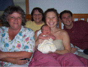 Soltis family w midwives