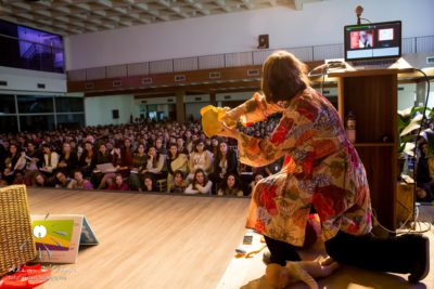 Gail teaching in Brazil