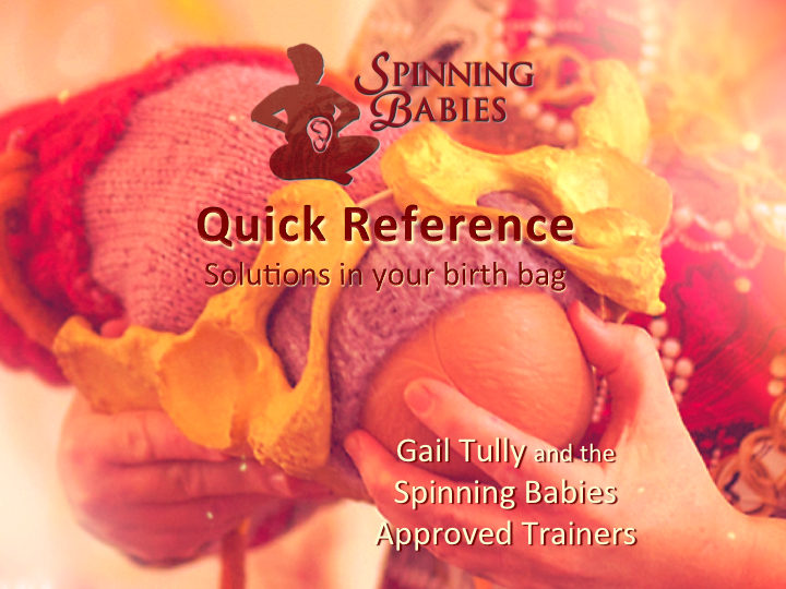 Spinning Babies Quick Reference Cards