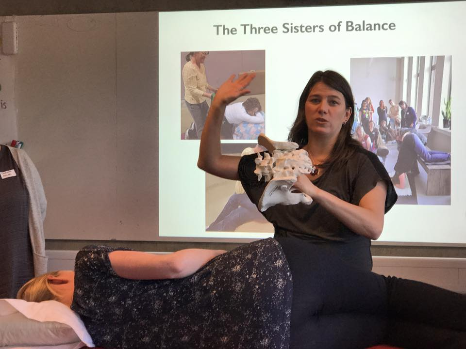Jennifer Walker teaching Pelvic Levels