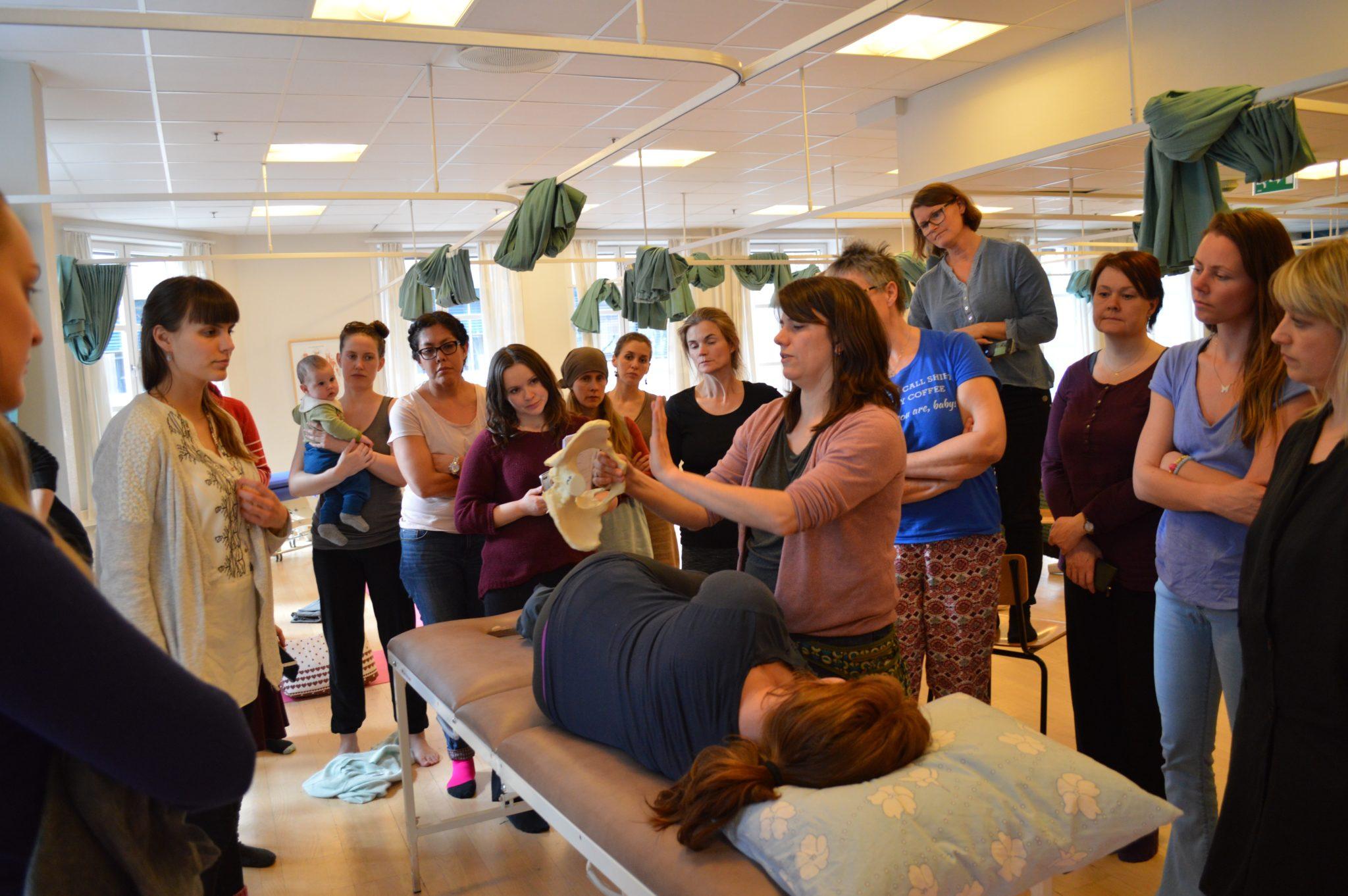 Nijmegen, Spinning Babies Workshop Jennifer Walker