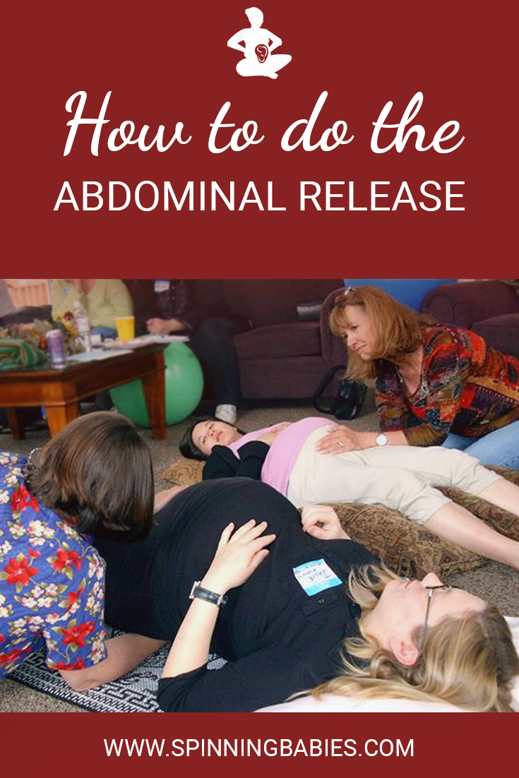 Abdominal Release - A Simple Myofascial Technique - Spinning Babies