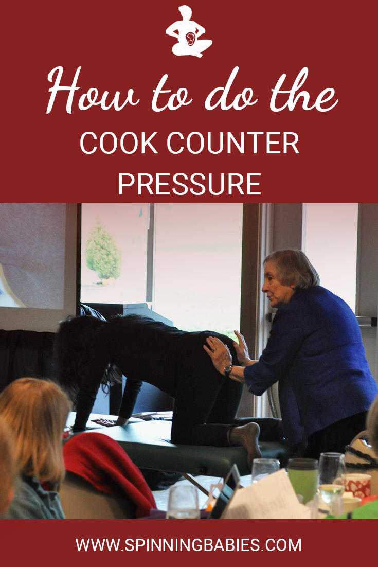 How to do the Cook Counter Pressure