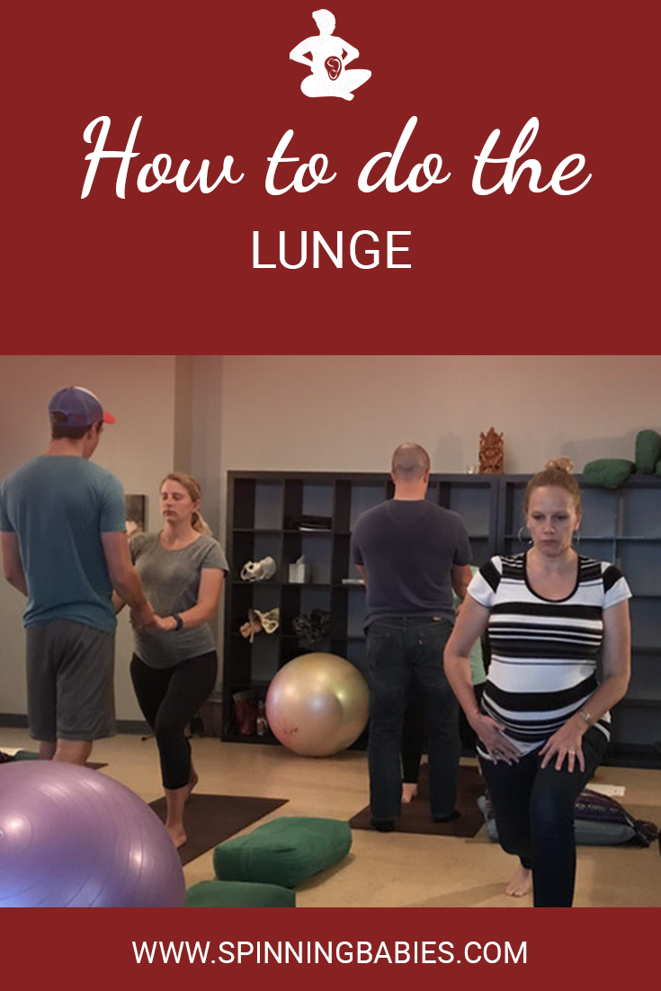 How to do the Lunge in labor