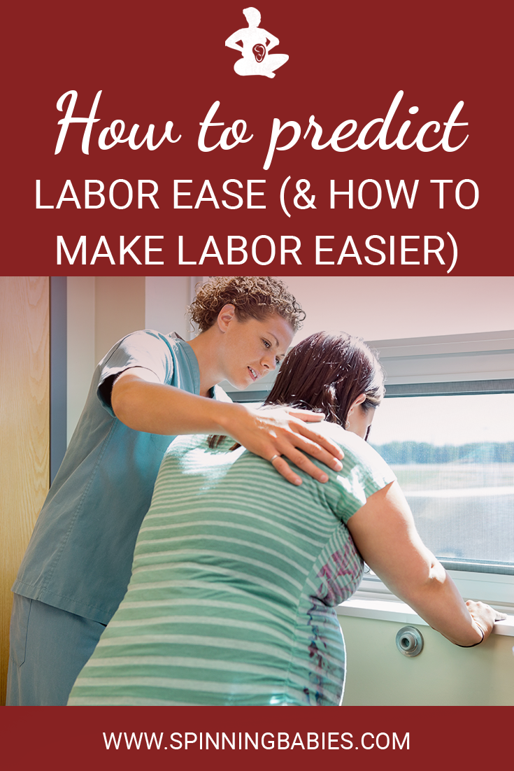 How to predict labor ease (and how to make labor easier)