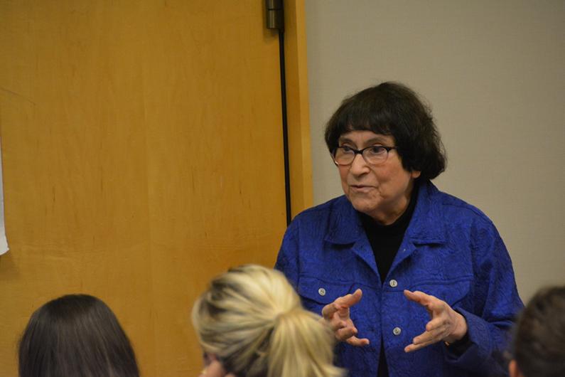 Phyllis Klaus teaching
